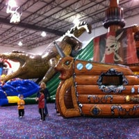 Photo taken at Jump!Zone - Niles by Amy M. on 11/11/2011