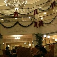 Photo taken at Hong Kong Disneyland Hotel by Erica C. on 1/4/2012