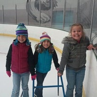 Photo taken at Kettle Moraine Ice Center by Heidi G. on 10/22/2011