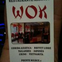 Photo taken at Restaurante Asiático WOK by Javier M. on 9/9/2011