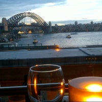 Photo taken at Café Sydney by Lynn L. on 7/12/2012