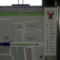 Photo taken at BTS Bang Na (E13) by Pattanit P. on 8/17/2012