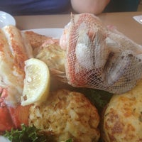 Photo taken at Woody's Crab House by Vvv L. on 7/7/2012