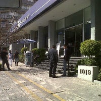Photo taken at BBVA Bancomer by Alito C. on 1/9/2012