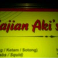 Photo taken at Aki's Seafood @ Langkawi by Firdaus's Y. on 10/22/2011