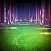 Photo taken at The Golf Club at Chelsea Piers by Mike S. on 1/28/2012