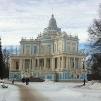 Снимок сделан в Дворцово-парковый ансамбль «Ораниенбаум» пользователем Tatiana 3/9/2012