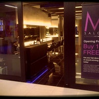"Photo taken at ""M"" salon by kimarie group, kenananga wholesale city by Roy T. on 12/14/2011"