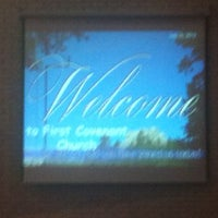 Photo taken at First Covenant Church by Mike T. on 7/29/2012