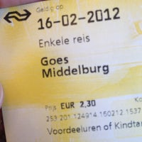 Photo taken at Intercity Rotterdam Centraal - Vlissingen by Lisanne B. on 2/16/2012