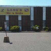 Photo taken at Lang's Ski 'N Scuba by Thomas S. on 8/16/2012
