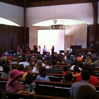 Photo taken at Temple Rodef Shalom by Scott B. on 9/9/2012