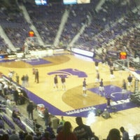 Photo taken at Bramlage Coliseum by Valerie A. on 11/12/2011