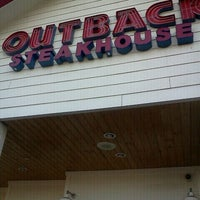Photo taken at Outback Steakhouse by Eileen G. on 1/5/2012