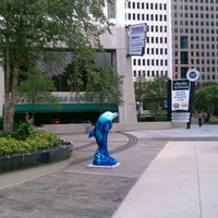 """Photo taken at """"Heery International"""" Dolphin on Parade at Colony Square by Chad E. on 8/17/2011"""