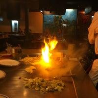Photo taken at Fujiyama Steak House of Japan by Jason C. on 9/12/2011