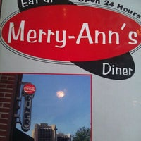 Photo taken at Merry Ann's Diner by Kristin C. on 9/29/2011