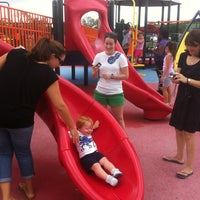 Photo taken at Kid's Cove at Mount Trashmore Park by Eamonn M. on 8/12/2012