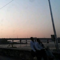 Photo taken at Mandovi Bridge by Greg B. on 12/26/2011