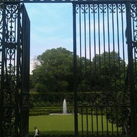 Photo taken at Conservatory Garden by Roger W. on 6/19/2012