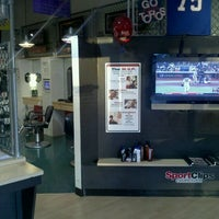 Photo taken at Sport Clips Haircuts of Mesa by Brent S. on 7/21/2011
