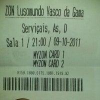 Photo taken at Cinemas NOS Vasco da Gama by Nuno M. on 10/9/2011