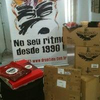 Photo taken at Drum Time - Escola de Bateria e Percussão by Joel J. on 2/11/2012