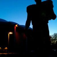 Photo taken at Ernie Davis Statue by Marc on 11/12/2011