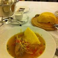 Photo taken at Restaurant Vatra Neamului by Sorin B. on 3/11/2011