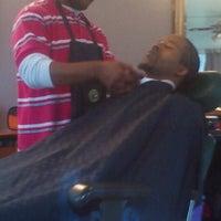 Photo taken at Shear Perfection Hair Salon & Barber/Braiding Shop by Lil-Bit on 12/27/2011