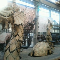Photo taken at The Machines of the Isle of Nantes by Edouard M. on 10/16/2011