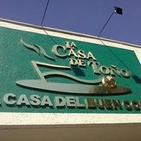 Photo taken at La Casa de Toño by Ivan S. on 10/27/2011