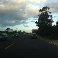 Photo taken at Estrada do Mar by Luiza R. on 2/10/2012