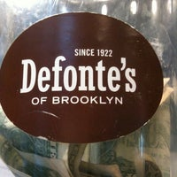 Photo taken at Defonte's of Brooklyn by Anon A. on 3/10/2011