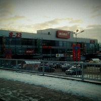 Photo taken at Rimi Hypermarket by Vytautas J. on 1/15/2012