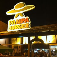 Photo taken at Pampa Burger by Leandro S. on 5/8/2011