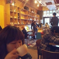 Photo taken at 8.5 COFFEE by 우혁 여봉 정. on 11/20/2011