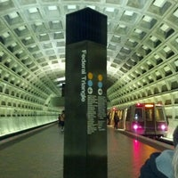 Photo taken at Federal Triangle Metro Station by Shawn O. on 10/9/2011