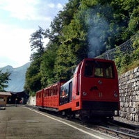 Photo taken at Brienz–Rothorn Bahn by Honza P. on 8/21/2012