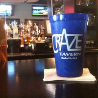 Photo taken at CraZe Tavern by Kevin S. on 4/20/2012