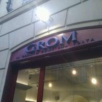 Foto scattata a Grom da Gabriele il 3/20/2011
