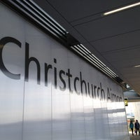 Photo taken at Christchurch International Airport (CHC) by Andre J. on 7/21/2012
