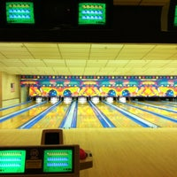 Photo taken at Riviera Lanes by emily on 7/27/2012