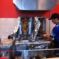 Photo taken at The Berliner Döner Kebab by Chris G. on 10/14/2011
