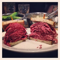 Photo taken at Sarge's Delicatessen & Diner by Donald B. on 3/11/2012