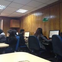Photo taken at Facultad de Ciencias Sociales Universidad de Chile by Dani L. on 4/26/2012