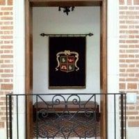 Photo taken at Rice Faculty Club (Cohen House) by David J. on 6/14/2012