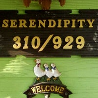 Photo taken at serendipity cafe by SirBacheL (. on 4/22/2012
