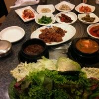 Photo taken at Korea Restaurant,, Komi by Chatchai U. on 12/25/2011
