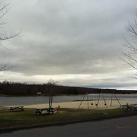 Photo taken at Indian Mountain Lake by SHER F. on 3/29/2012